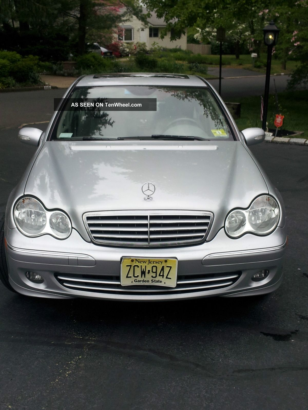 2006 Mercedes Benz 280c Silver W Light Grey Interior