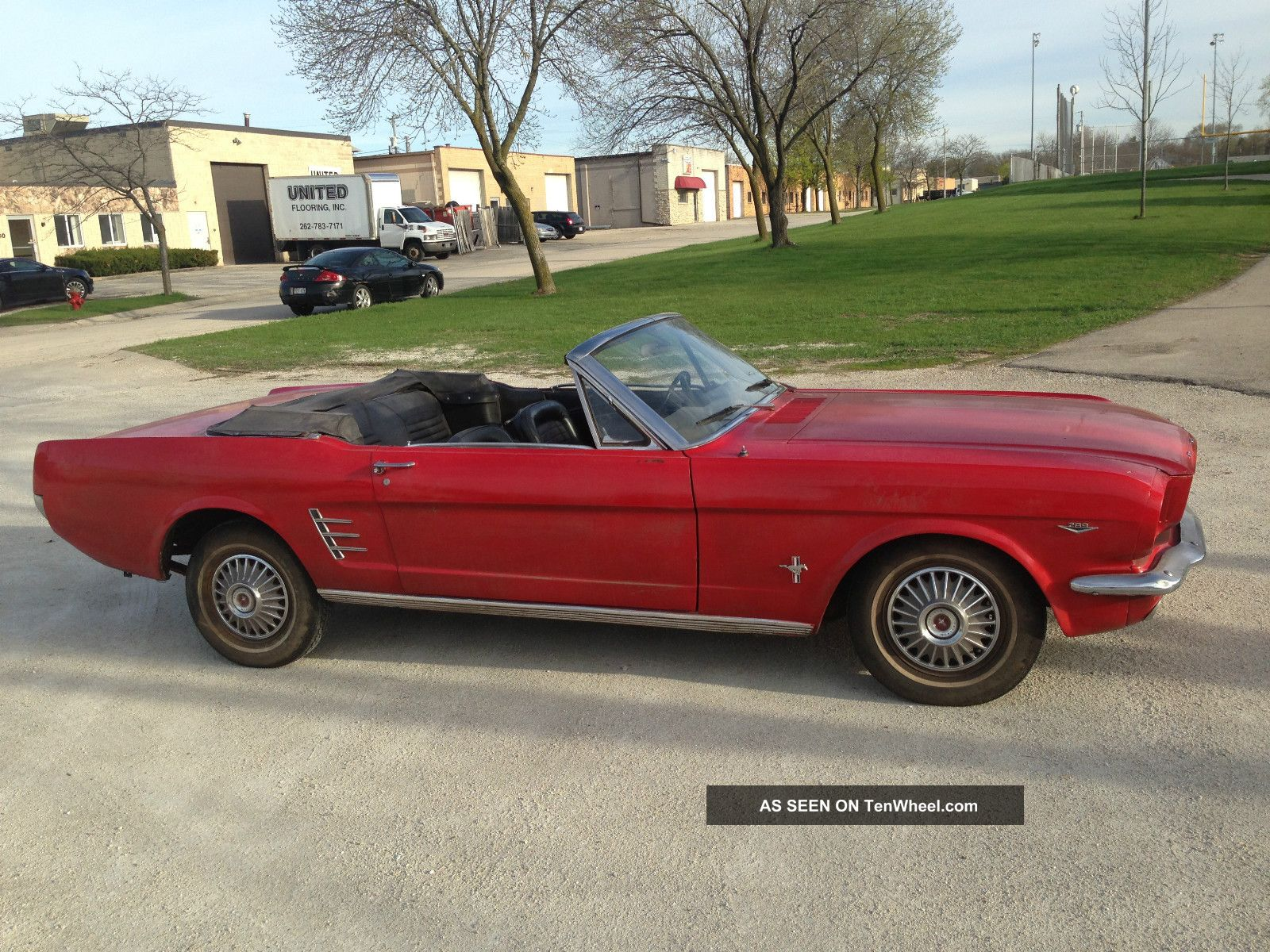 1966 Ford Mustang Convertible Barn Find Mustang photo