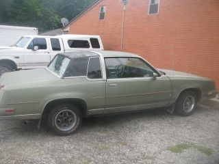 1986 Oldsmobile Cutlass Supreme Brougham - Overheated Engine - Needs Restoration photo