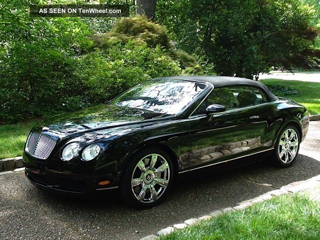2007 bentley continental gtc convertible serviced utd. Black Bedroom Furniture Sets. Home Design Ideas