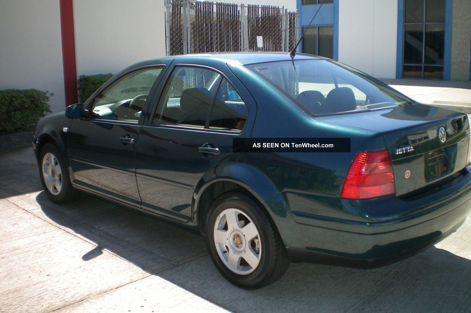 2001 Volkswagen Jetta Tdi Sedan 4 Door 1 9l