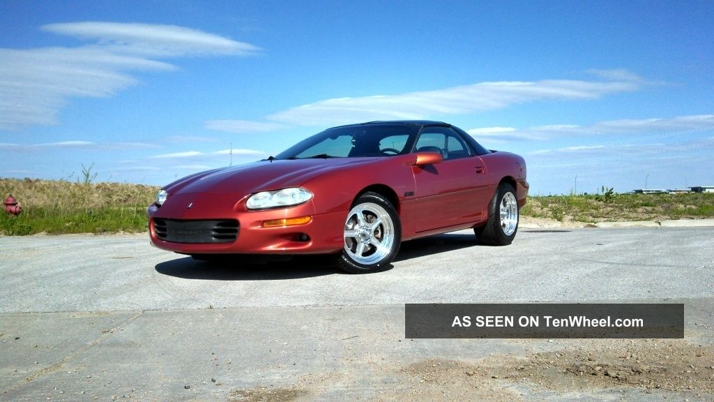 2002 Camaro Z28 Ls1 Auto Rare Sunset Orange Camaro photo