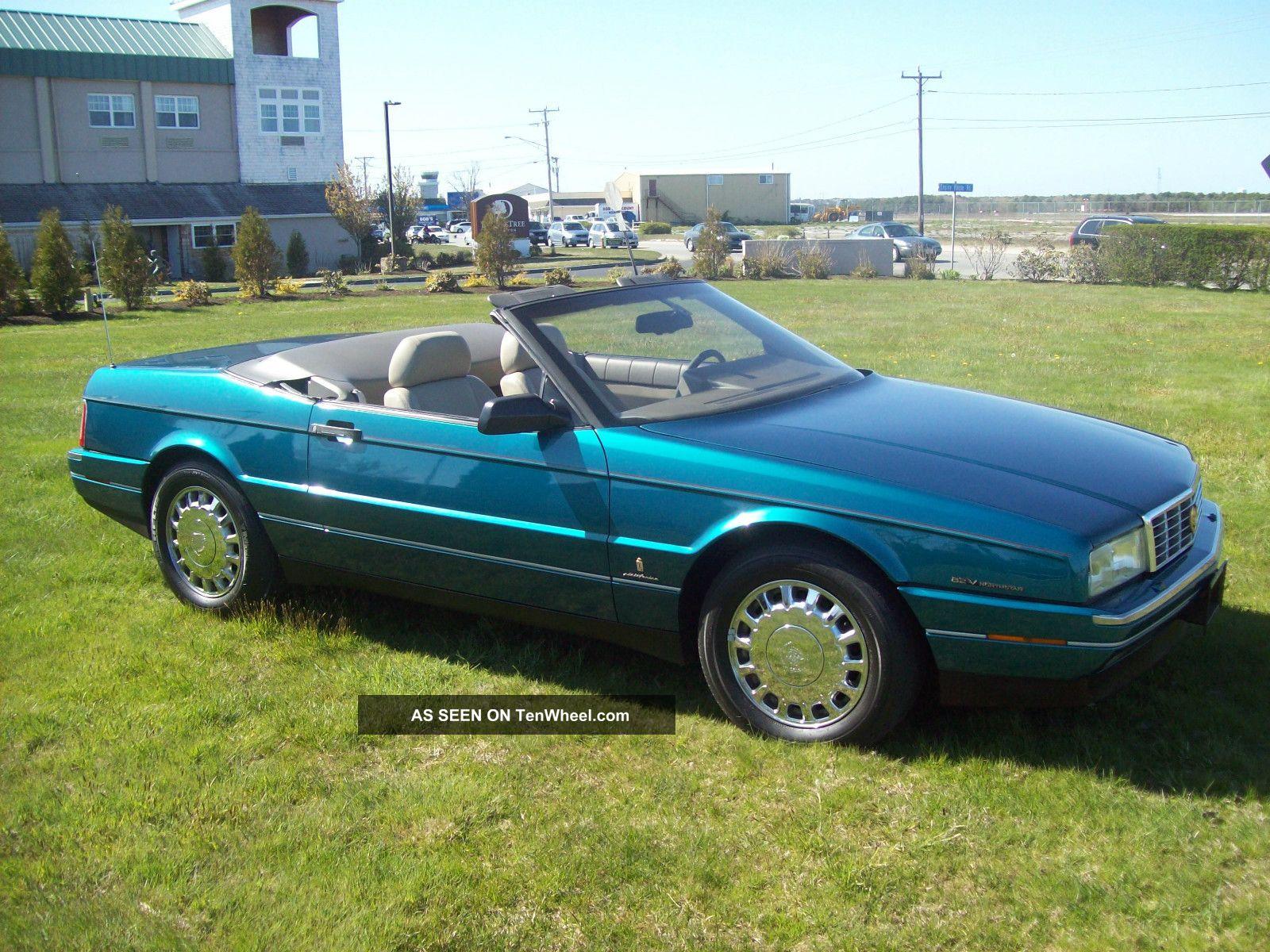 1993 Cadillac Allante Value Leader Convertible 2 - Door 4. 6l ...