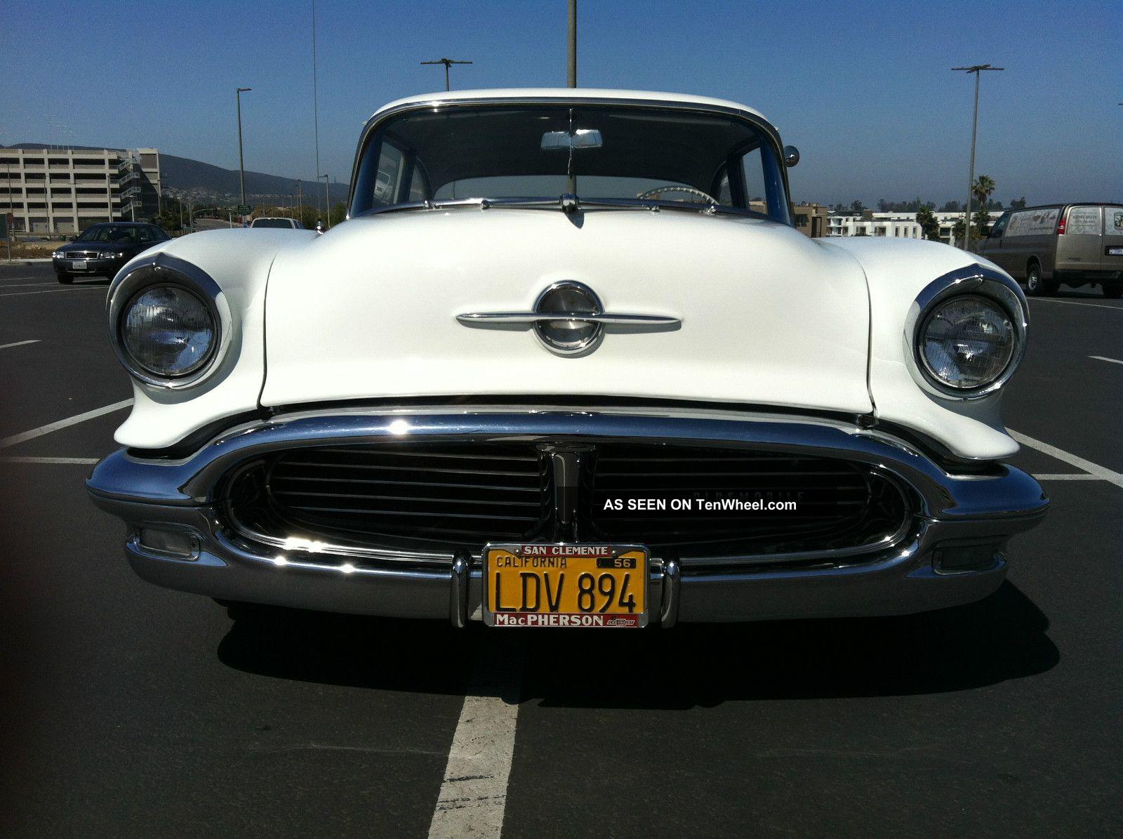 1956 Oldsmobile 88 Base Sedan 2 - Door 5.  3l Eighty-Eight photo
