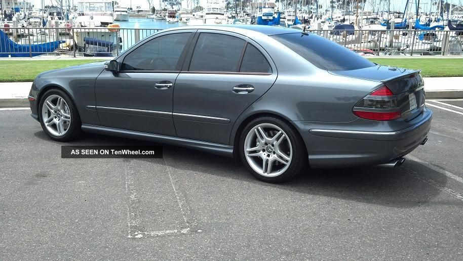 Perfect 2005 mercedes benz e55 amg rare stealth grey for 2005 mercedes benz e55 amg