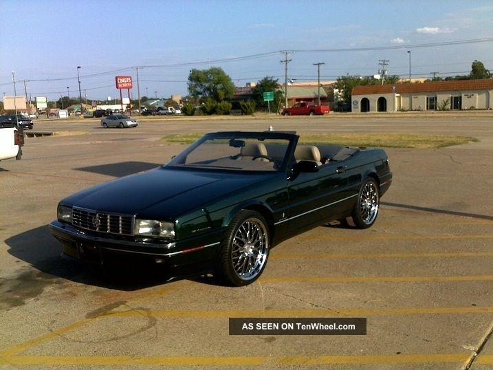 1993 Cadillac Allante Value Leader Convertible 2 - Door 4.  6l Allante photo