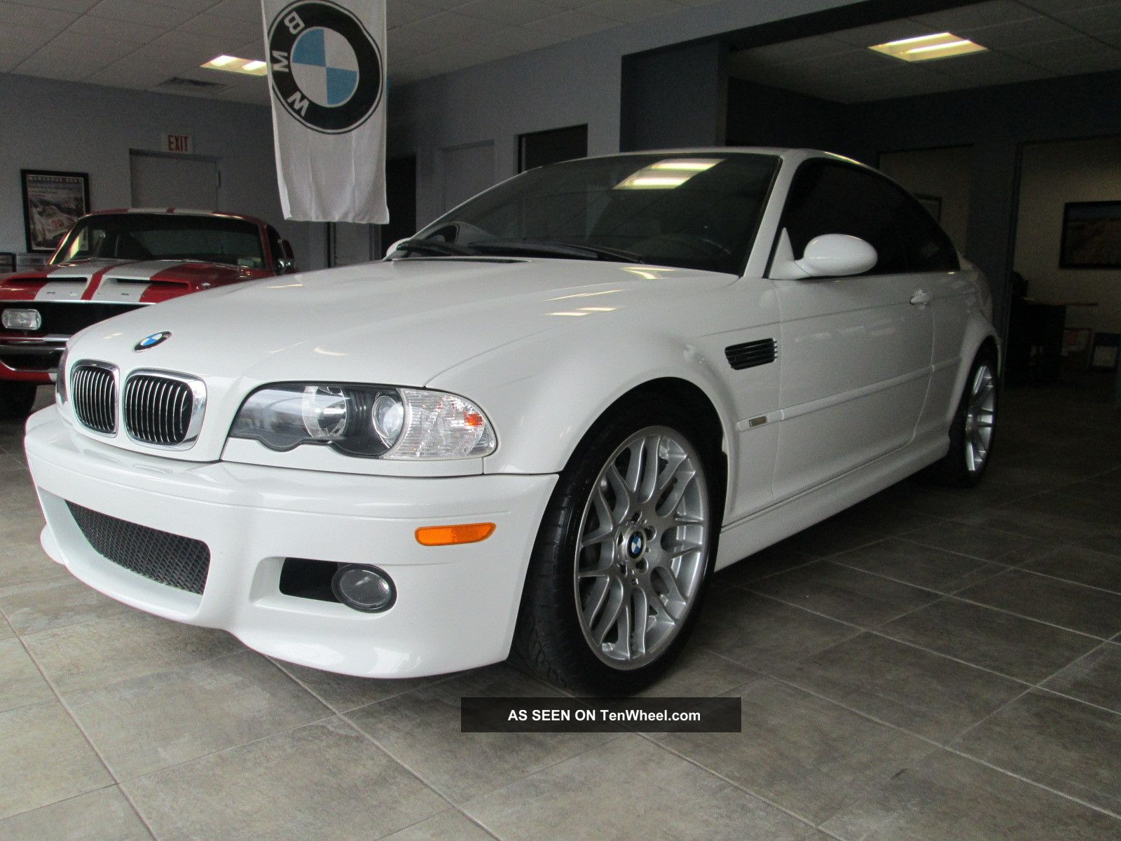 2002 Bmw M3 White Coupe Manual 6 Speed M3 photo