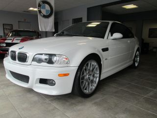2002 Bmw M3 White Coupe Manual 6 Speed photo