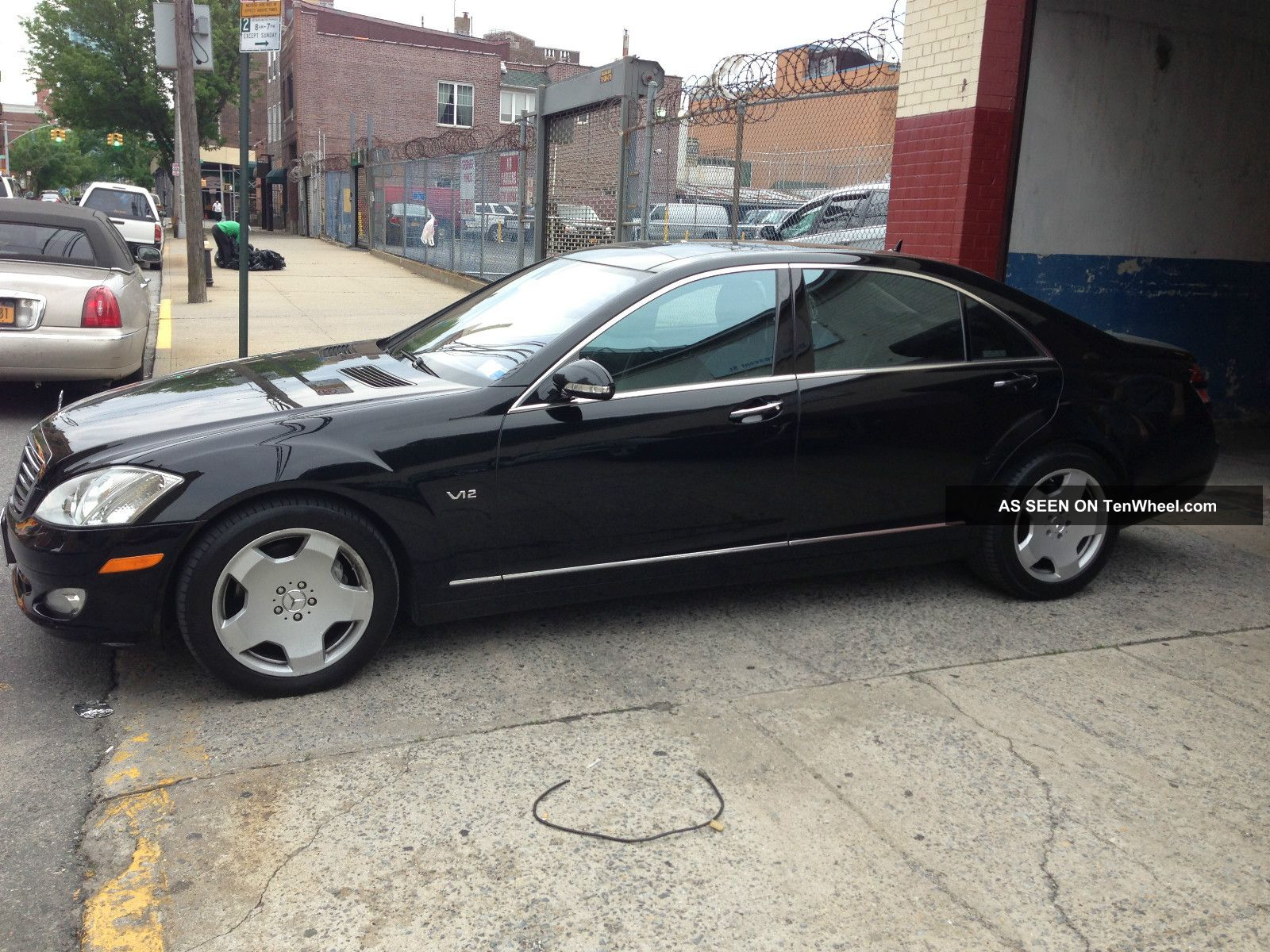 2007 mercedes benz s600 base sedan 4 door 5 5l for Mercedes benz s600 coupe