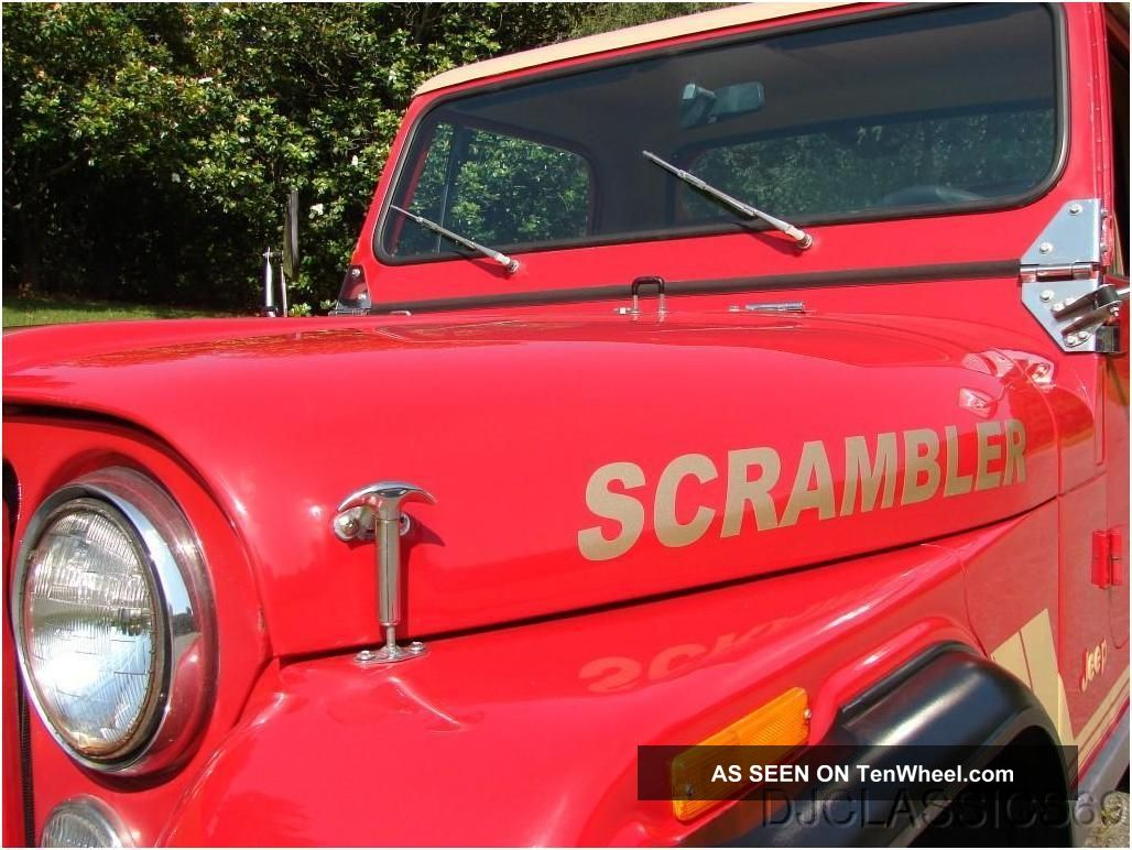 Jee P Scrambler 1981 CJ photo