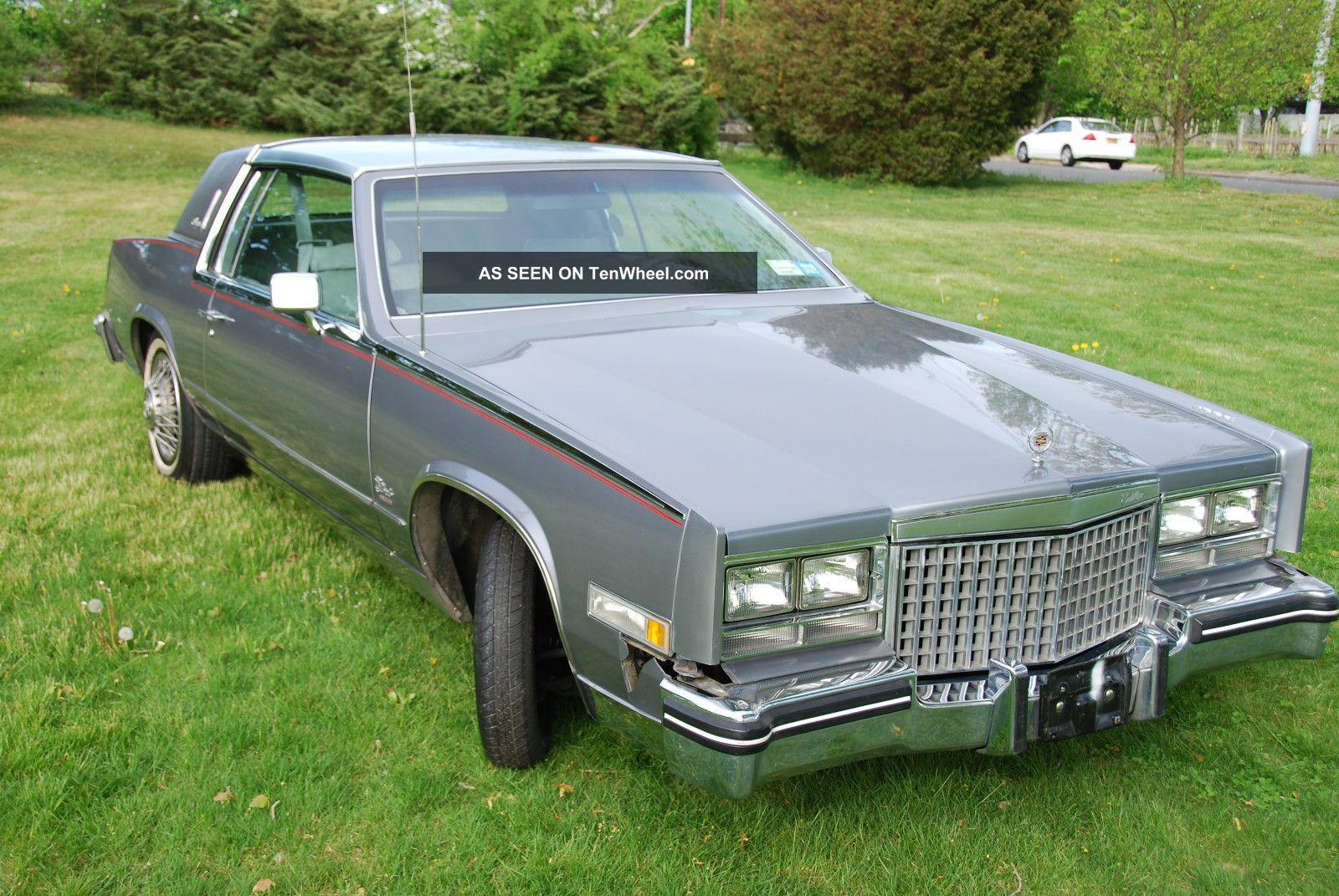 1980 Cadillac Eldorado Biarritz Coupe 2 - Door 5.  7l Rare Eldorado photo