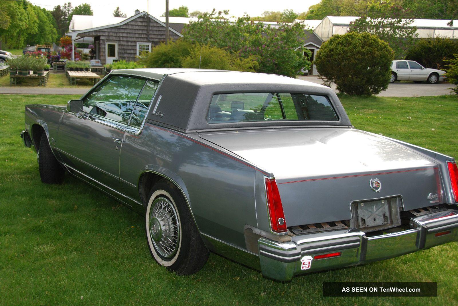 1980 Cadillac Eldorado Biarritz Coupe 2 - Door 5. 7l Rare