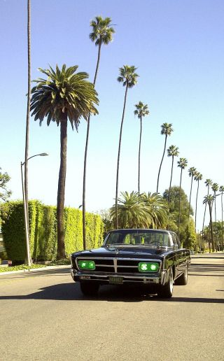 1965 Chrysler Imperial Green Hornet Black Beauty 1 Hero Car photo