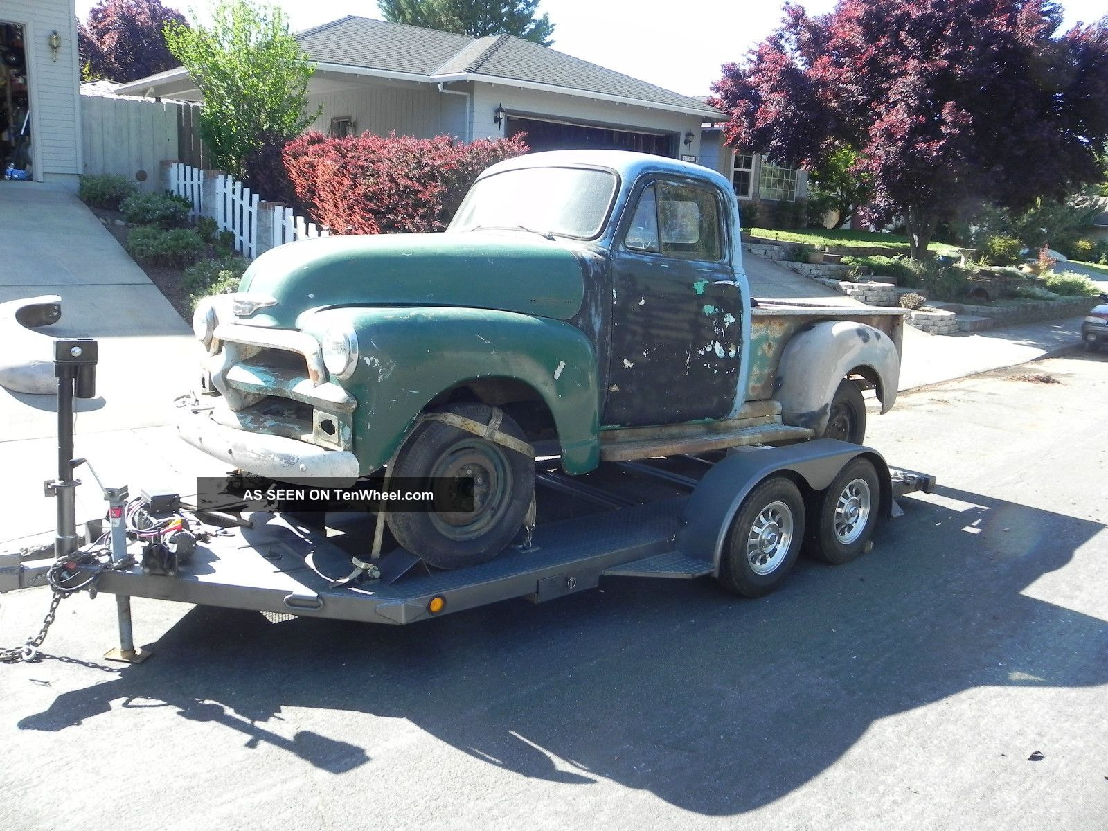 1954 Chevrolet Pickup Project No Dents Cancer Pick Up