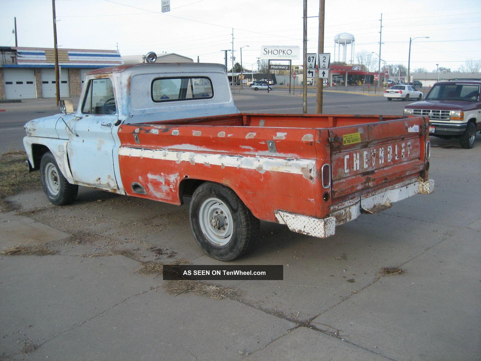 1964 chevrolet 3 4 ton pickup. Black Bedroom Furniture Sets. Home Design Ideas