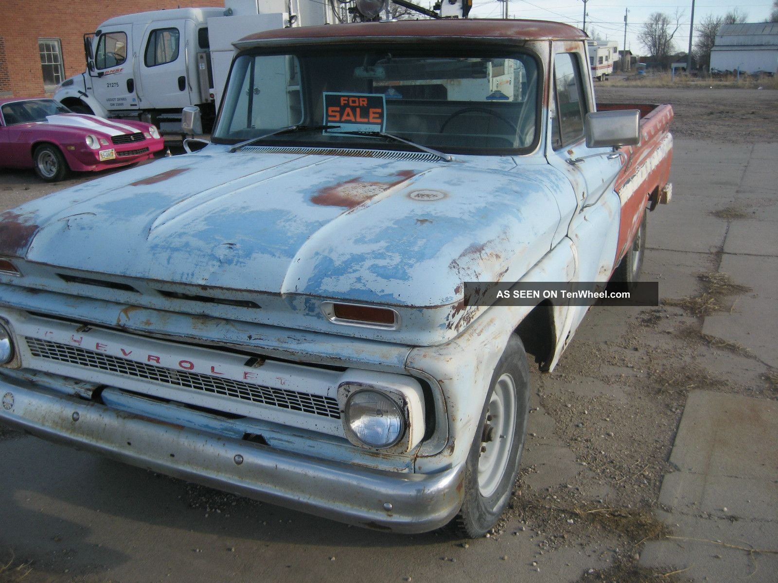 1964 chevrolet 3 4 ton pickup. Black Bedroom Furniture Sets. Home Design Ideas