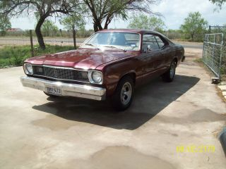 1976 Plymouth Duster Sport Coupe Factory 4 Speed photo