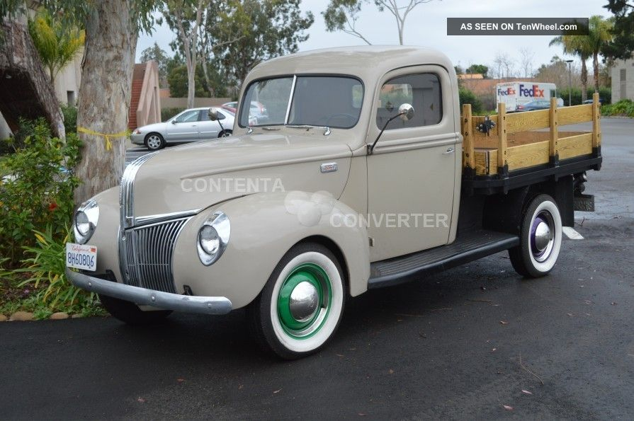 1941 Ford Pickup Truck on ford flathead v8