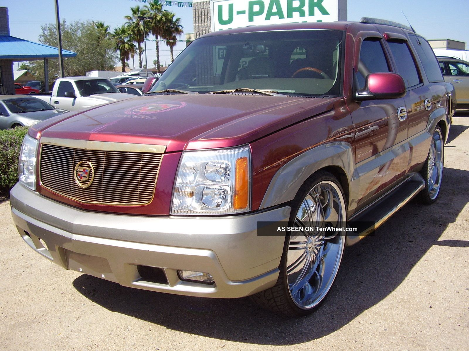 2002 cadillac escalade awd show truck. Black Bedroom Furniture Sets. Home Design Ideas
