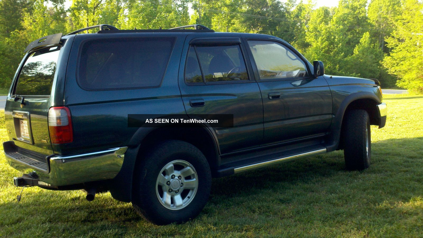 1997 Toyota 4 Runner Green - Tow Package - Roof Rack - Sun Roof 4Runner photo