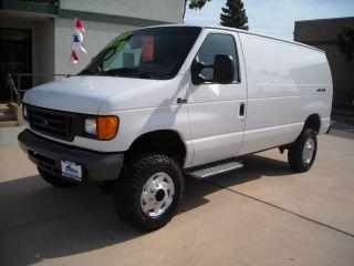 2007 Ford E - 350 4x4 Quigley Cargo Van photo