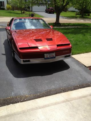 1987 Pontiac Transam Flame Red Coupe photo