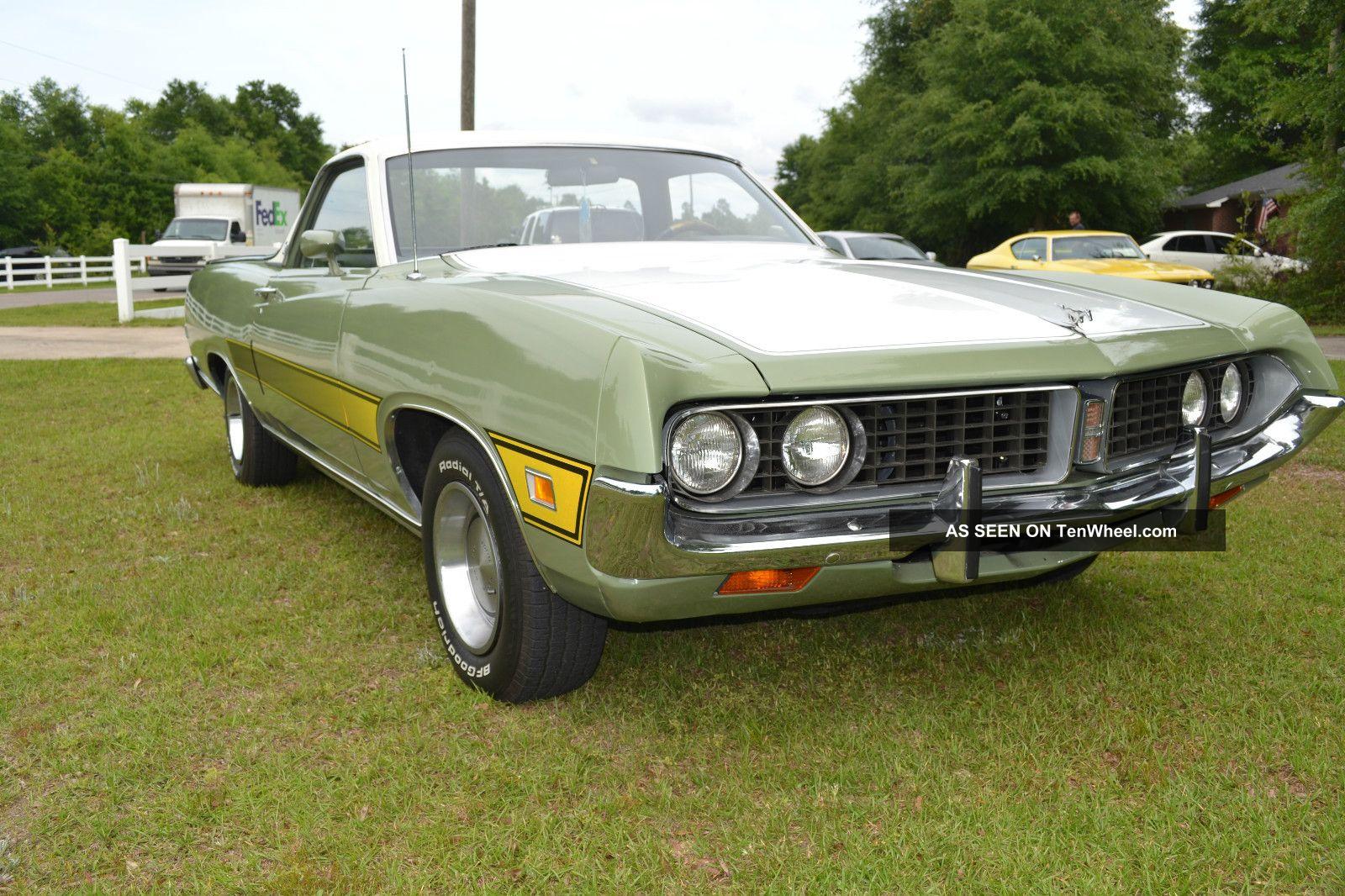 1971 Ford Ranchero 500