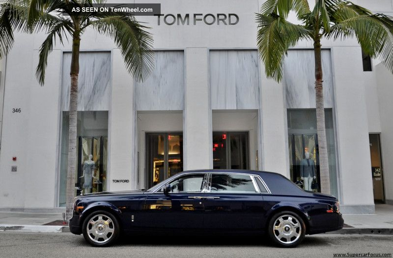 2009 Rolls Royce Phantom Long Wheel Base (ewb) Loaded Curtains Phantom photo