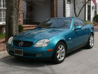1998 Mercedes - Benz Slk230 Kompressor Convertible 2 - Door 2.  3l photo