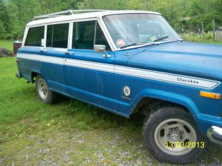 1978 Jeep Cherokee Sport / Wagoneer 4 - Door photo