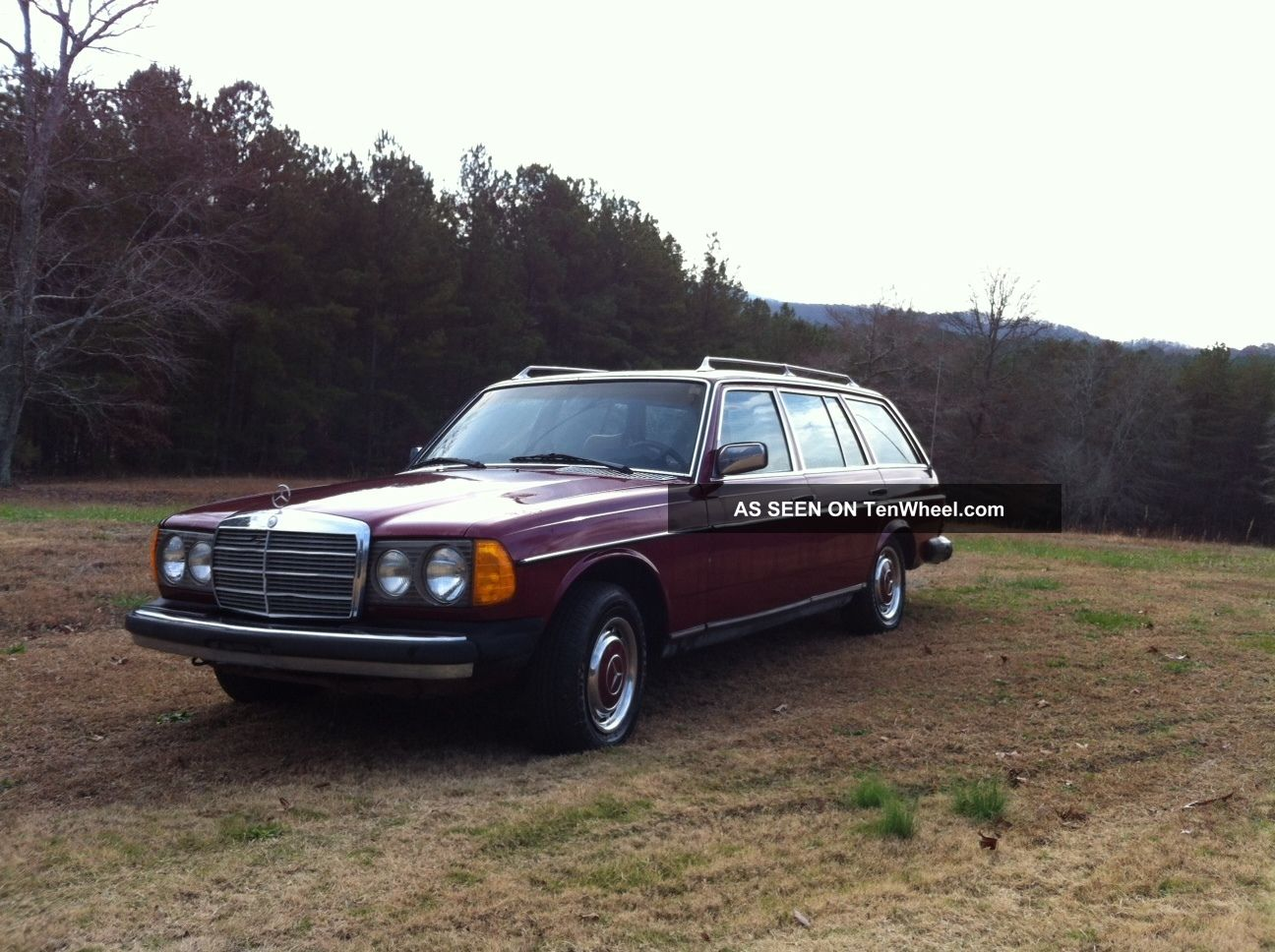 1979 Mercedes Benz 300d Diesel W / Veggie Oil Conversion 300-Series photo