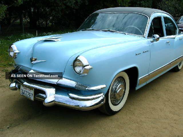 1953 Kaiser Manhattan,  Upholstery Other Makes photo