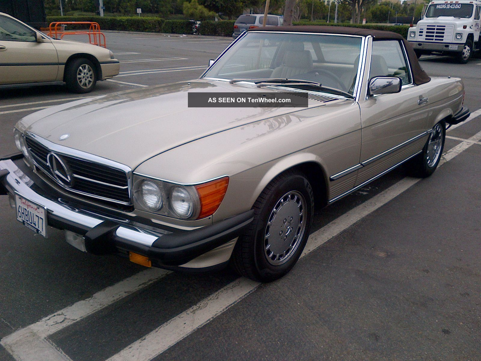 mercedes 1989 560 sl clean. Black Bedroom Furniture Sets. Home Design Ideas