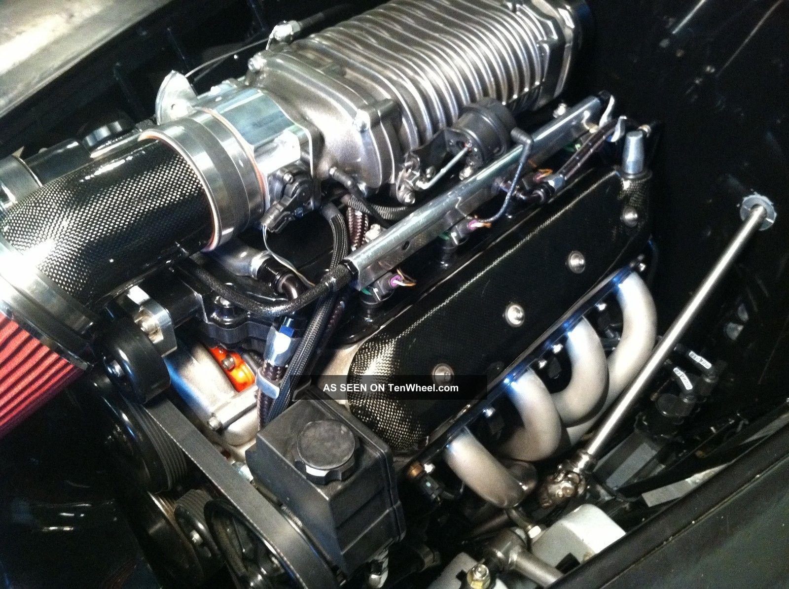 1958 Volvo Duett 445 Blown Ls Motor Bagged Cruiser