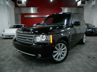 2010 Land Rover Range Rover Supercharged Sport Utility 4 - Door 5.  0l photo