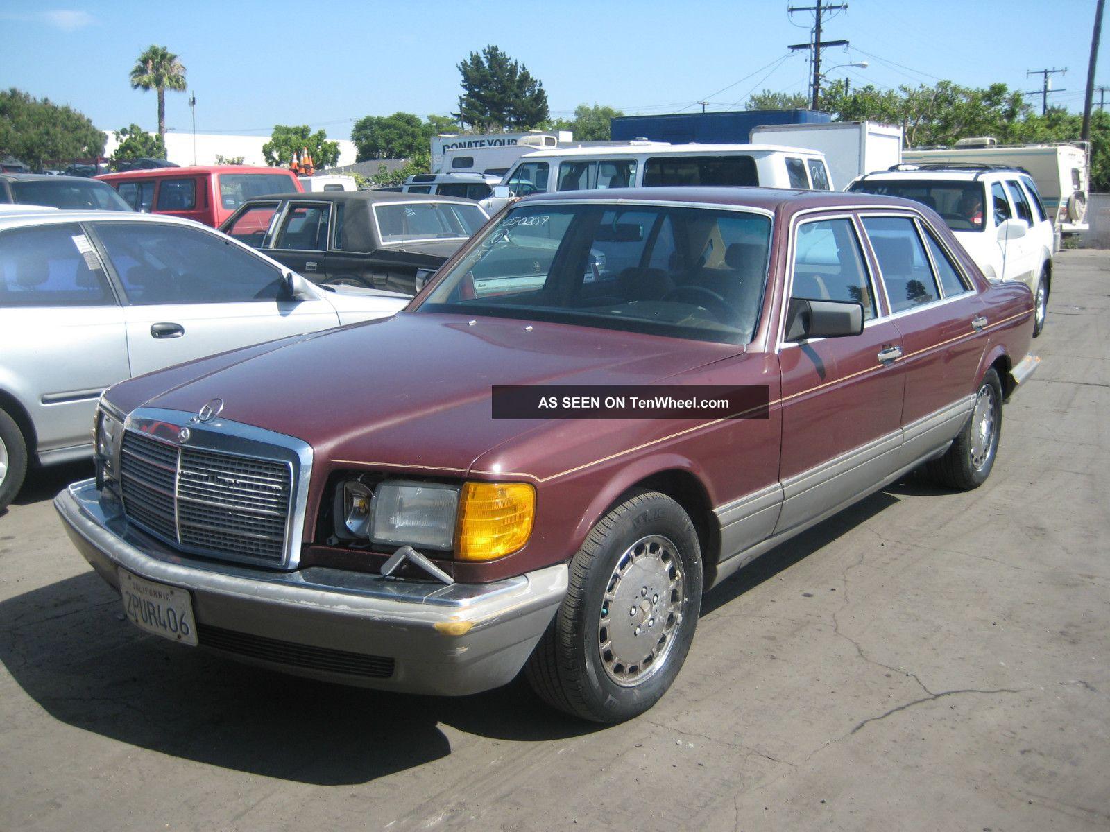 1988 Mercedes 420sel