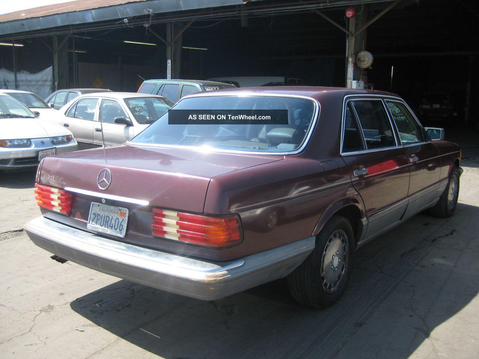 1988 mercedes 420sel for 1988 mercedes benz