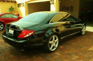 2007 Mercedes Cl550 Sport Amg Black photo