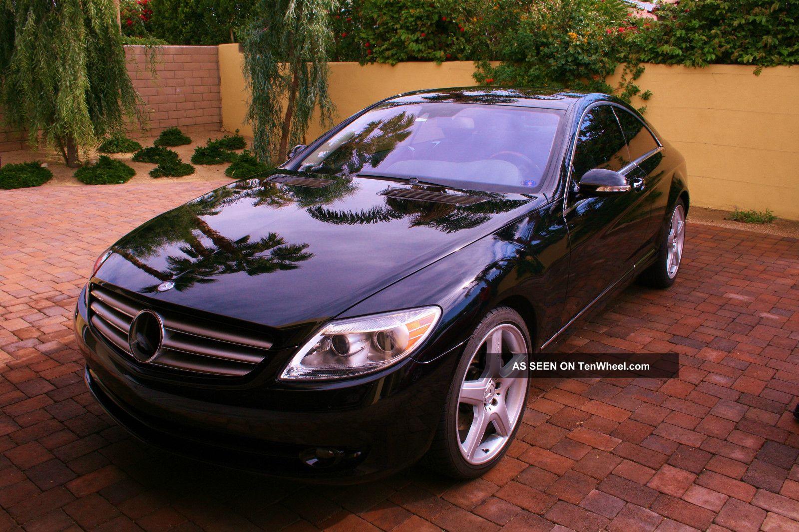 2007 Mercedes Cl550 Sport Amg Black