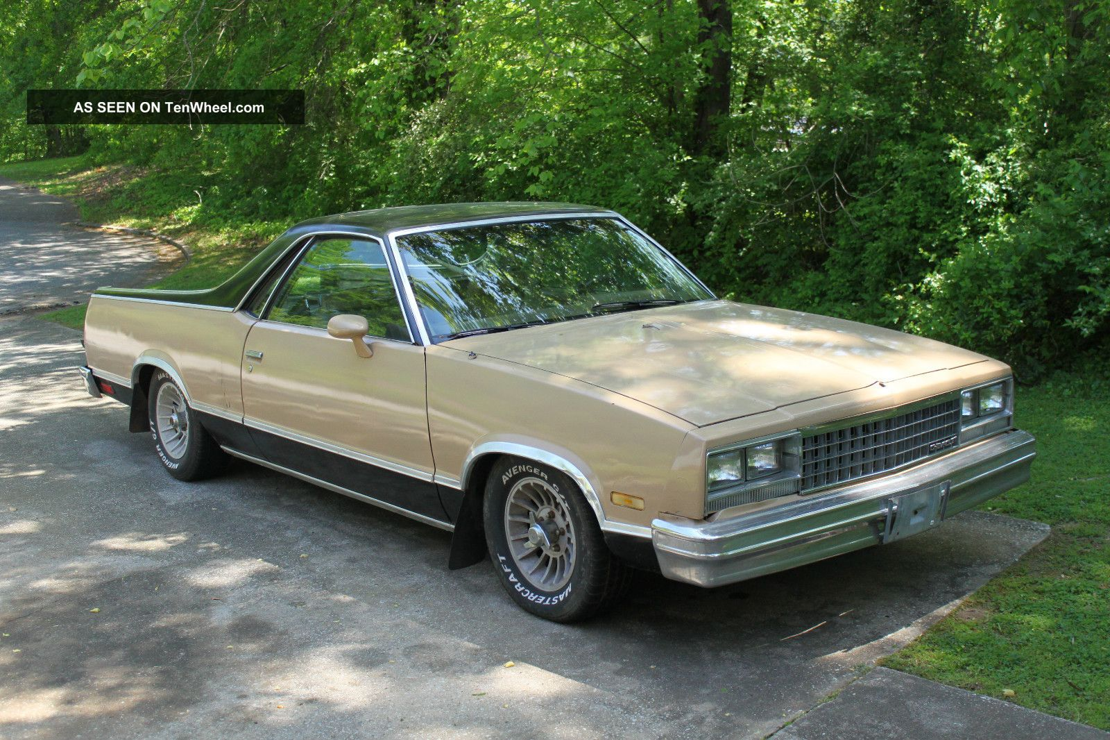 1985 Chevrolet El Camino Conquista 305 V8 Bill Of Only No