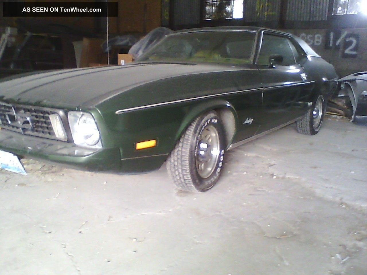 73 Ford Mustang Grande Condition 1973 Mustang photo