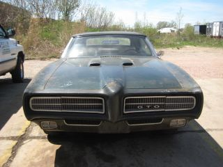 1969 Pontiac Gto Convertable Base 6.  6l photo