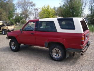 1985 Toyota 4runner Dlx Sport Utility 2 - Door 2.  4l Rock Crawler Candidate Efi photo