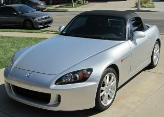 2005 Honda S2000,  6 Speed,  59k Mi. ,  Silver,  Limited Red / Black Interior photo