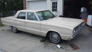 1967 Dodge Coronet 4 Door Sedan 318 V8 5.  2l photo