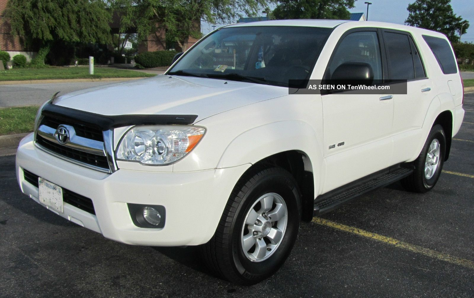 2006 toyota 4runner sr5 4x4 v6 4 0l suv white 4wd sport utility vehicle. Black Bedroom Furniture Sets. Home Design Ideas