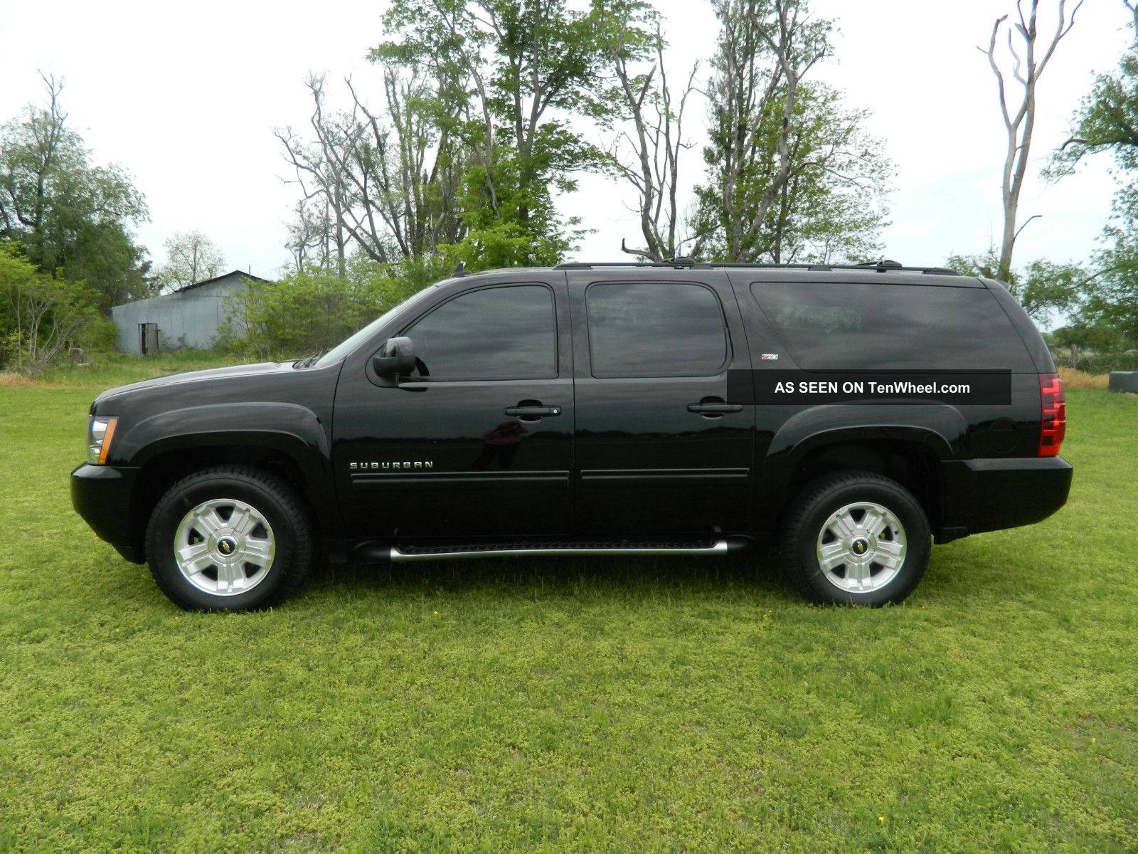 2011 Chevy Suburban Z71 W Dvd Tinted Windows And More