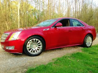 2010 Cadillac Cts Premium Sedan 4 - Door 3.  6l Awd Fully Loaded photo