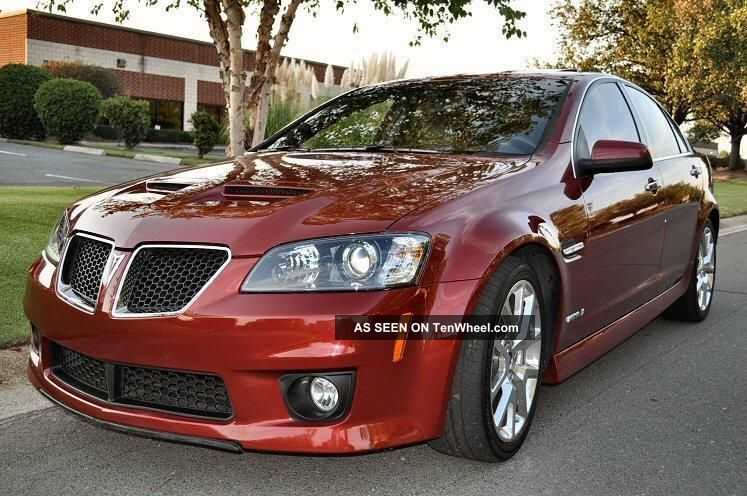 2009 Pontiac G8 Gxp: 415 Hp 6 - Speed Manual G8 photo