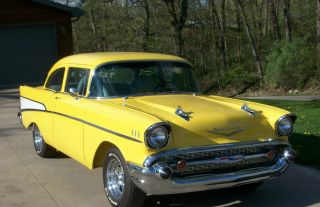 1957 Chevrolet 210 2 - Door Post Chevrolet Hot Rod photo
